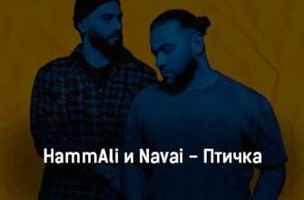 Караоке онлайн Hammali & Navai - Птичка